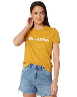VINTAGE GOLD WOMENS CLOTHING WRANGLER TEES - W-951373-K59