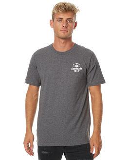 DARK GREY HEATHER MENS CLOTHING CARHARTT TEES - I021928DGHTR
