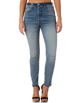 INDIGO BLUE WOMENS CLOTHING FREE PEOPLE JEANS - OB8195455413