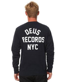 BLACK MENS CLOTHING DEUS EX MACHINA JUMPERS - DMP78436BLK