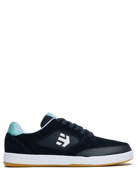 BLACK MENS FOOTWEAR ETNIES SKATE SHOES - 4101000516001