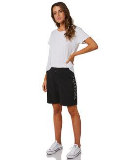BLACK WOMENS CLOTHING BILLABONG SHORTS - 6581363BLK