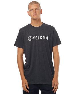 CHAR HEATHER MENS CLOTHING VOLCOM TEES - A57117G0CHH