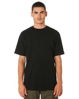 BLACK MENS CLOTHING CARHARTT TEES - I026264BLK