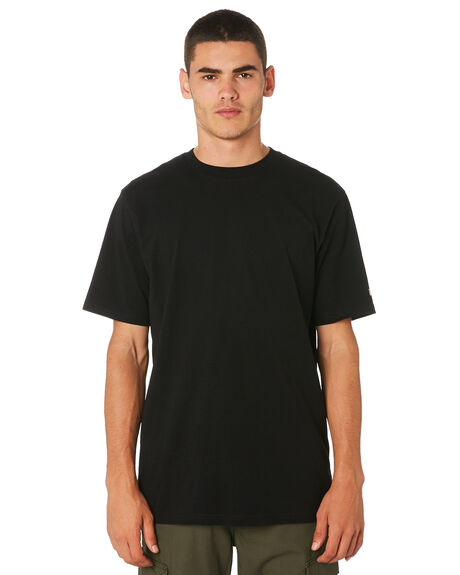 BLACK MENS CLOTHING CARHARTT TEES - I026264BLK