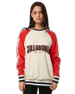 IVORY WOMENS CLOTHING BILLABONG JUMPERS - 6586738I03