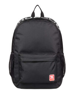 BLACK MENS ACCESSORIES DC SHOES BAGS + BACKPACKS - EDYBP03201-KVJ0