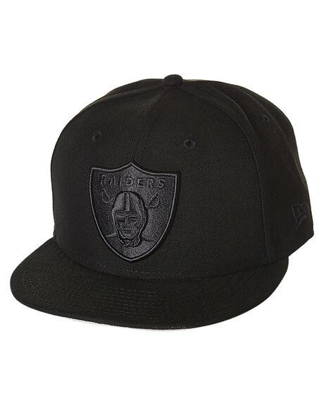 New Era Oakland Raiders Snapback Cap - Black Black  9a39073145b
