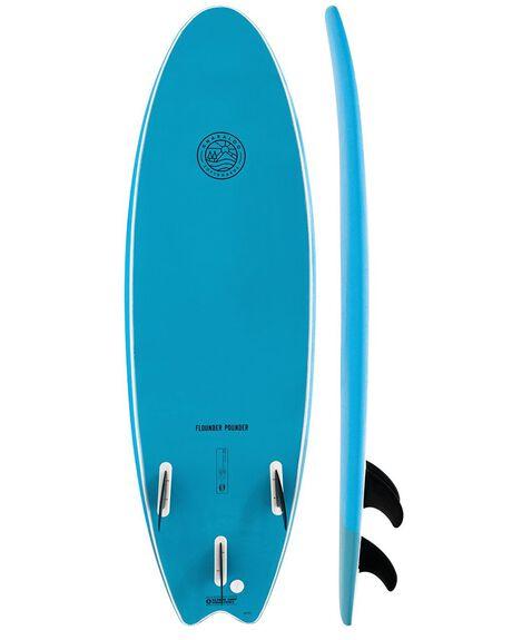 BLUE/BLUE BOARDSPORTS SURF GNARALOO GSI SOFTBOARDS - GN-FLOPO-BLBL