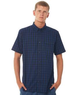WASHED INDIGO MENS CLOTHING DC SHOES SHIRTS - EDYWT03178BSA0
