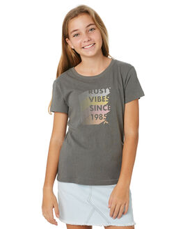NAVAL GREY KIDS GIRLS RUSTY TOPS - TTG0003NVG