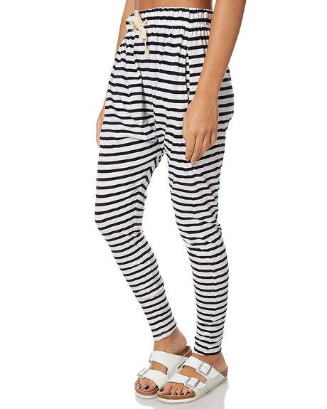6ac72d68b9ba6 BLACK AND WHITE WOMENS CLOTHING SILENT THEORY PANTS - 6090036STR