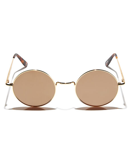 GOLD WOMENS ACCESSORIES SUNDAY SOMEWHERE SUNGLASSES - SUN125-GOL