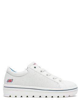 WHITE WOMENS FOOTWEAR SKECHERS SNEAKERS - 74104WHT