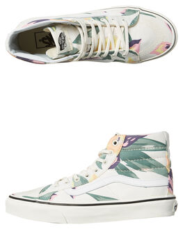 VINTAGE FLORAL MARSH KIDS GIRLS VANS SNEAKERS - VNA3276OJQMVF