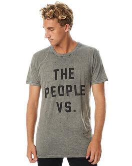 KHAKI MENS CLOTHING THE PEOPLE VS TEES - AW17014-KHA