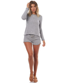 HERITAGE HEATHER WOMENS CLOTHING ROXY SHORTS - ERJNS03107SGRH