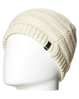 CREAM WOMENS ACCESSORIES RUSTY HEADWEAR - HBL0051CRM1