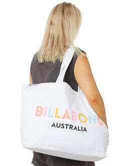 WHITE WOMENS ACCESSORIES BILLABONG BAGS + BACKPACKS - 6681103AWHT