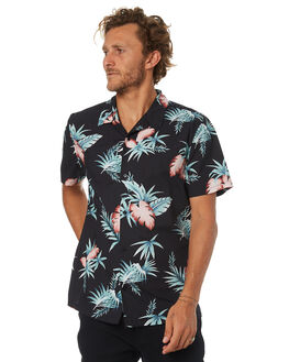 BLACK OUTLET MENS SWELL SHIRTS - S5184188BLACK