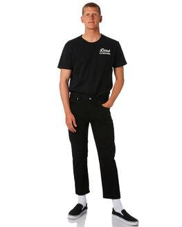 BLACK MENS CLOTHING DEUS EX MACHINA TEES - DMS41065CBLK