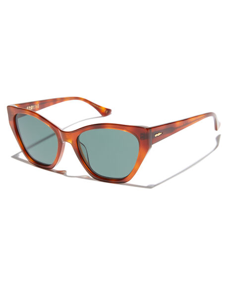 HAVANA POLISHED GRN WOMENS ACCESSORIES EPOKHE SUNGLASSES - 0793-HAVPOGRNHAVGR