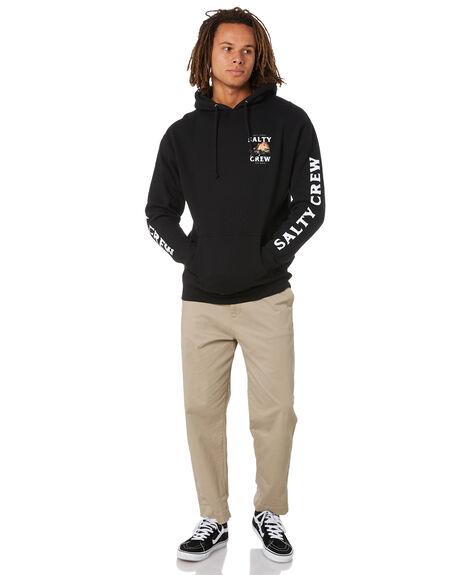 BLACK MENS CLOTHING SALTY CREW JUMPERS - 20335089ABLK