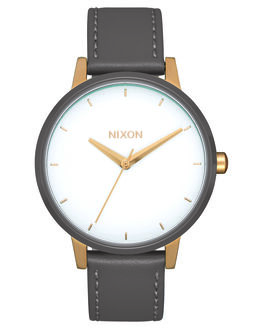 GOLD WHITE GRAY WOMENS ACCESSORIES NIXON WATCHES - A108-3232GWGRY