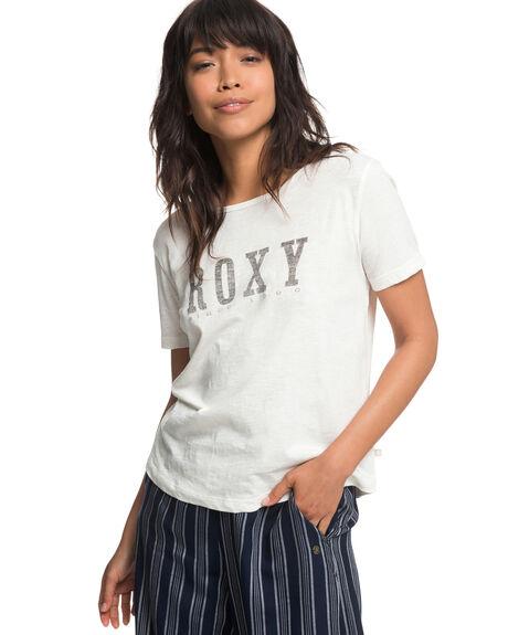 MARSHMALLOW WOMENS CLOTHING ROXY TEES - ERJZT04349WBT0