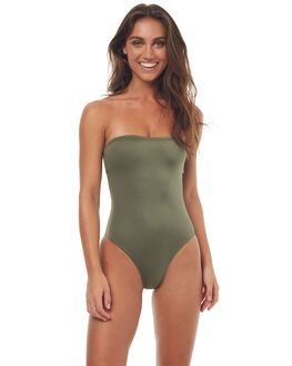 KHAKI WOMENS SWIMWEAR BILLABONG ONE PIECES - 6571712XKHK