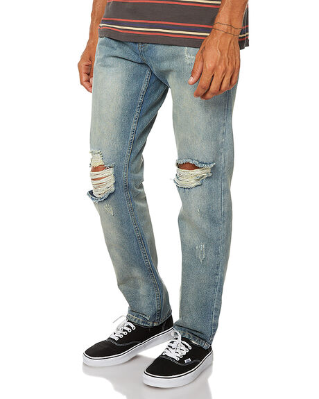 LEMMY MENS CLOTHING AFENDS JEANS - 12-02-033LEM