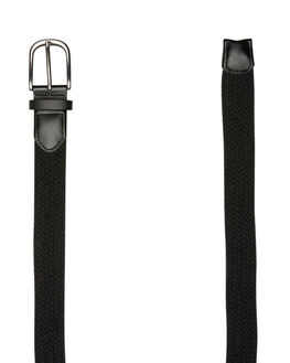 BLACK MENS ACCESSORIES SWELL BELTS - S51841721BLK