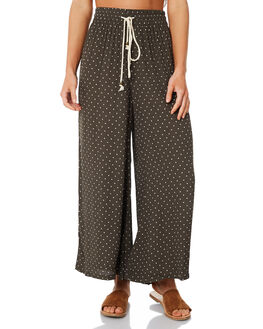 OLIVE WOMENS CLOTHING SAINT HELENA PANTS - SH18AW523-A-OLI