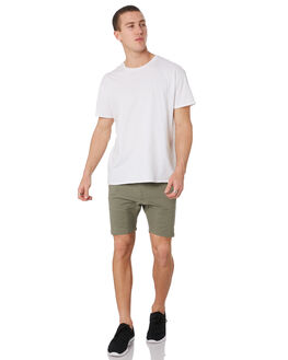 DUSTY OLIVE MENS CLOTHING NENA AND PASADENA SHORTS - NPMCS001DOLV