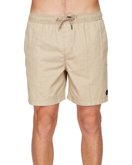 DUSTY YELLOW MENS CLOTHING RVCA SHORTS - R191311DYEL