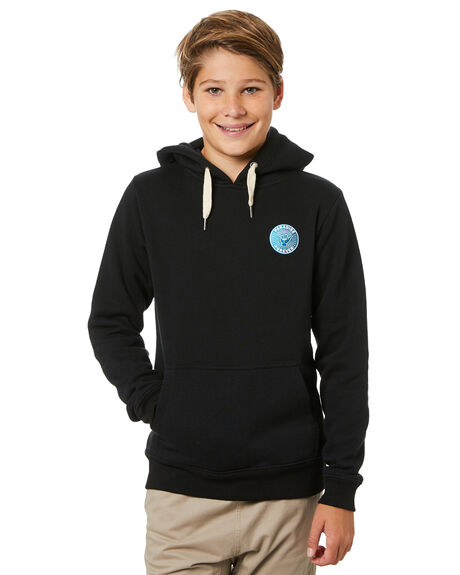 BLACK KIDS BOYS SWELL JUMPERS + JACKETS - S3214442BLK
