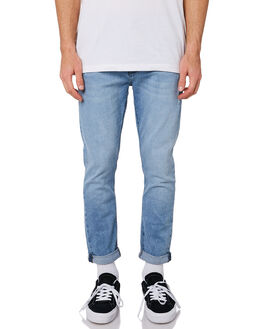 2PM BLUE MENS CLOTHING A.BRAND JEANS - 812114153