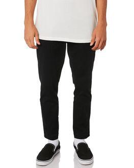 BLACK MENS CLOTHING ROLLAS PANTS - 15545100