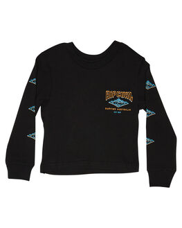 BLACK KIDS BOYS RIP CURL TOPS - OTEWT30090