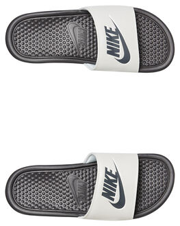 THUNDER GREY WOMENS FOOTWEAR NIKE SLIDES - 343881-009