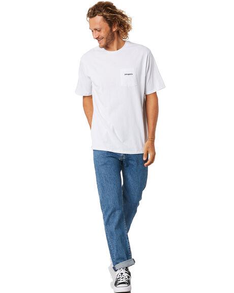 WHITE MENS CLOTHING PATAGONIA TEES - 38511WHI
