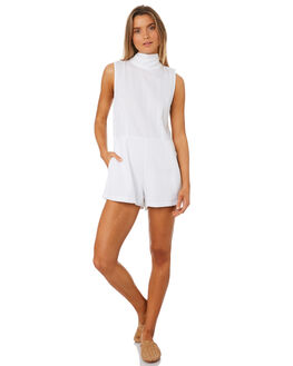 DOLCE WHITE WOMENS CLOTHING MLM LABEL PLAYSUITS + OVERALLS - MLM435AWHI