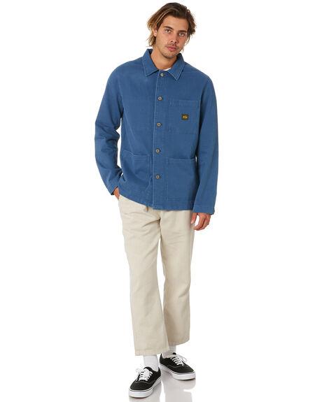 NAVY MENS CLOTHING DEPACTUS JACKETS - D5203383NAVY