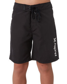 BLACK KIDS BOYS HURLEY BOARDSHORTS - AO2215010