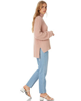NATURAL WOMENS CLOTHING ALL ABOUT EVE KNITS + CARDIGANS - 6454004NAT