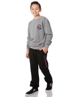 BLACK KIDS BOYS RIP CURL PANTS - KPAZX30090