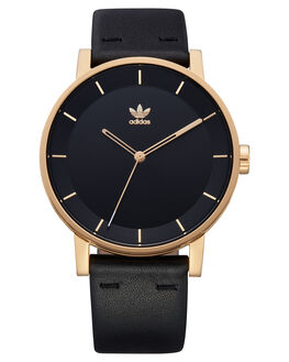 GOLD BLACK SUNRAY MENS ACCESSORIES ADIDAS WATCHES - Z08-1604-00GDBKS