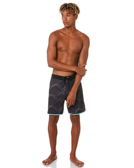 BLACK MENS CLOTHING HURLEY BOARDSHORTS - CJ5257010