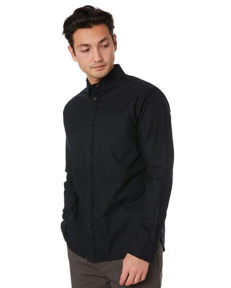 BLACK MENS CLOTHING GLOBE SHIRTS - GB02004001BLK