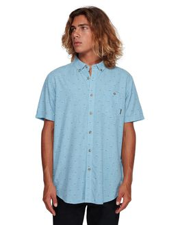 POWDER BLUE MENS CLOTHING BILLABONG SHIRTS - BB-9591202-P22